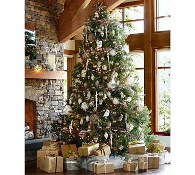silver glitter and white and frosted surfaces these cool shades bring a modern and invigorating breath of fresh air to christmas decorations