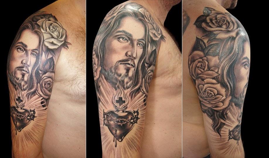 Suficiente As Melhores Tatuagens De Jesus | Desenho de Tatuagens OH96