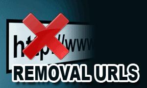 Removal URLs