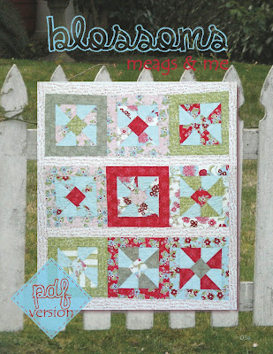 meags and me Blossoms Quilt Pattern