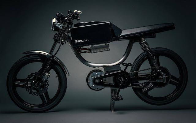 Das M-1 E-Moped von Bolt Motorbikes | Ein Elektro-Motorrad als Kickstarterprojekt