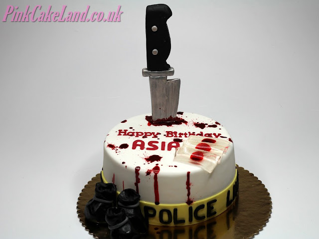 Dexter Morgan Birthday Cake London