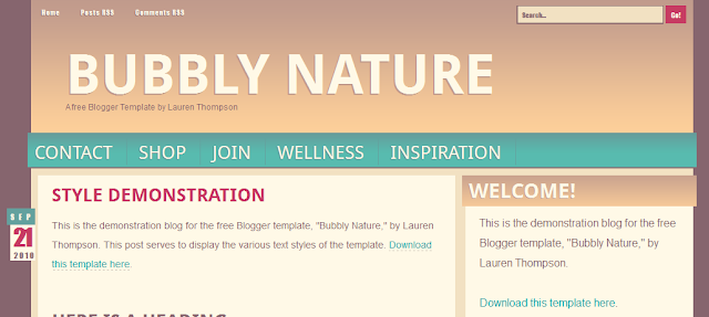 Cool Blogger Template