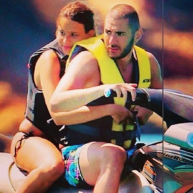 Chloe de launay and benzema