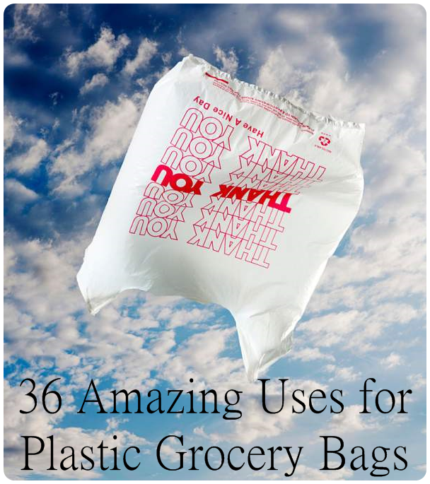 36 Amazing Uses for the Lowly Plastic Grocery Bag