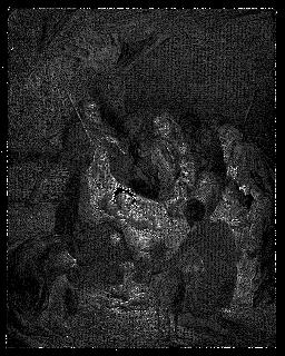 Christmas Nativity Scene image