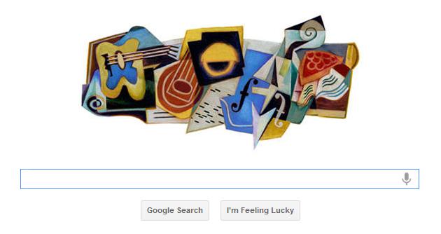 Juan Gris 125th Birthday – Google Doodle, juan gris 125th birthday