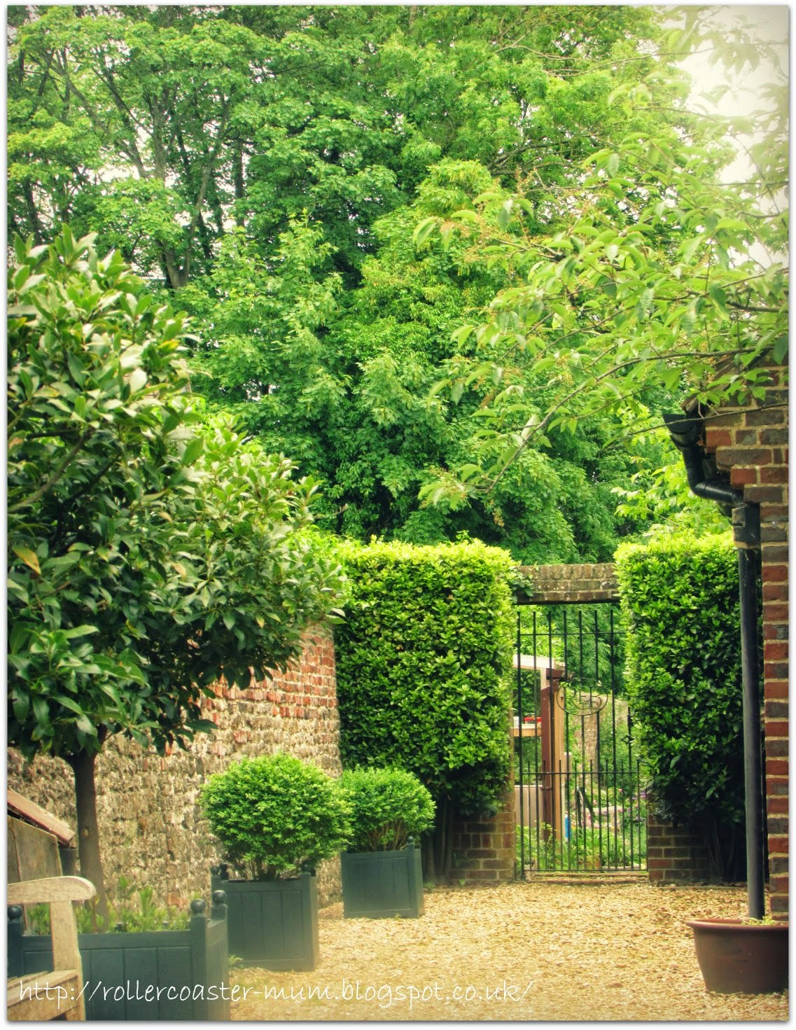 #alphabetphoto, G is for Garden, Petersfield Physic Garden - gate