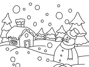 Christmas santa claus and gif and christmas snowman