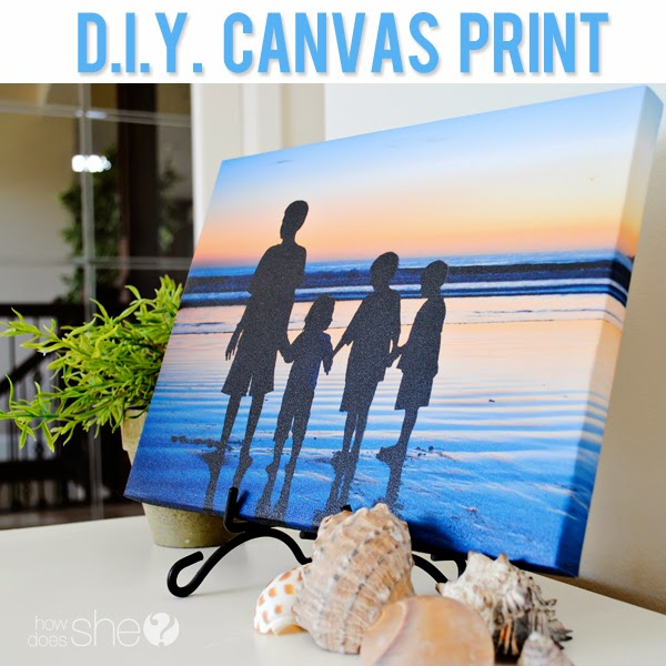DIY Canvas Prints Tutorial