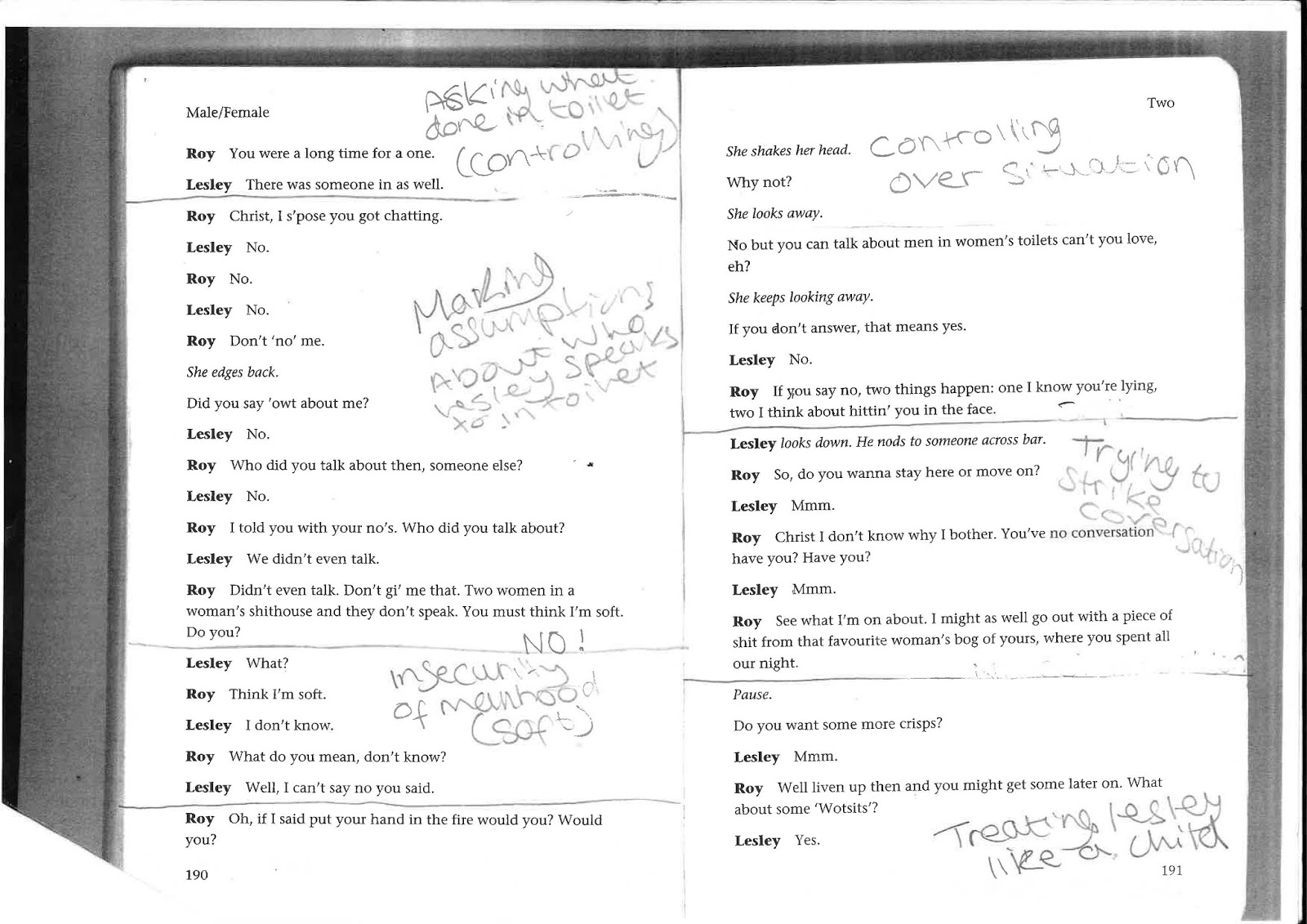 units and objectives lenrick greaves btec drama these are the images of my unit and objective annotations on my script i have completed the majority of it i just need to finish the last page of my