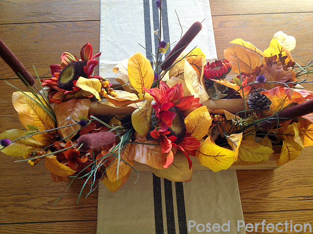 Rustic Toolbox Fall Centerpiece