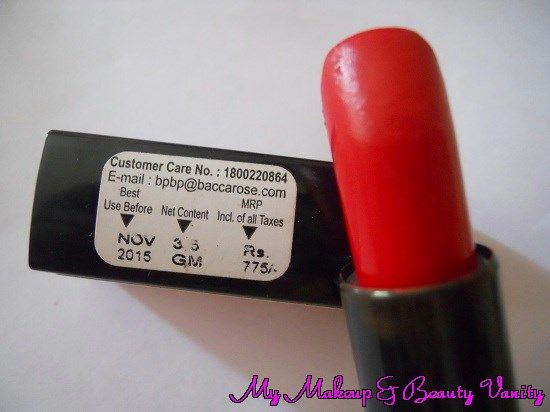 bourjois rouge edition lipstick 13 rouge jet set review and Swatch+bourjois lipstick+red lipstick