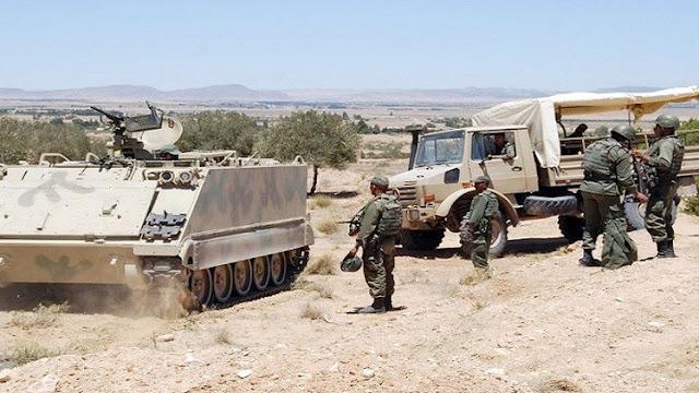 استنفار الجيش التونسي و تمركزه على الحدود الليبية