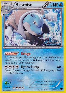 Blastoise Plasma Blast Pokemon Card
