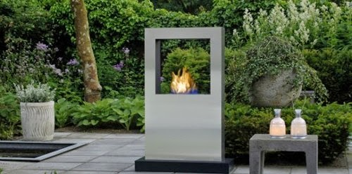 patio fireplaces outdoor decoration garden photos