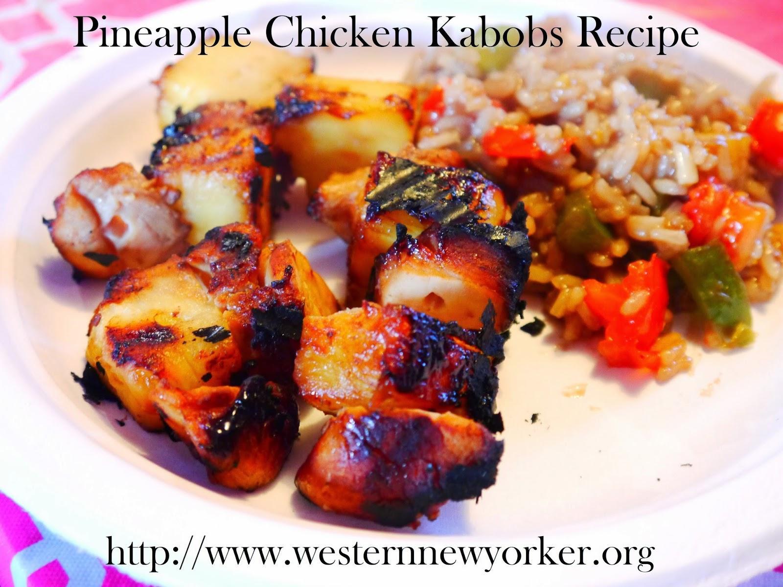 Pineapple Chicken Kabobs Recipe