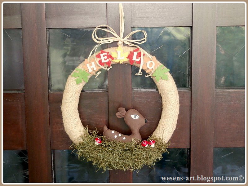FallWreath   wesens-art.blogspot.com