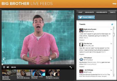 BB15 Live Feeds Screen Shots, Big Brother 2013