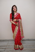 Priyal Gor Dazzling in Red Saree-thumbnail-17