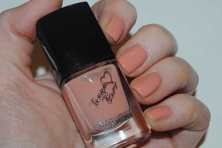 Tanya burr nail collection swatches peaches and cream tanya burr nail