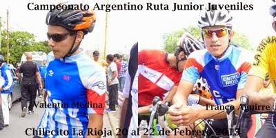Argentino Ruta 2015 Junior-Menores
