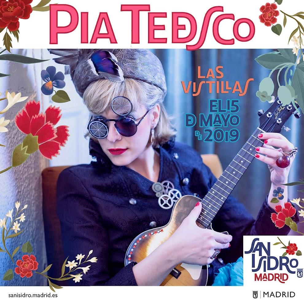 PÍA TEDESCO CABARET Música, Teatro, Cabaret