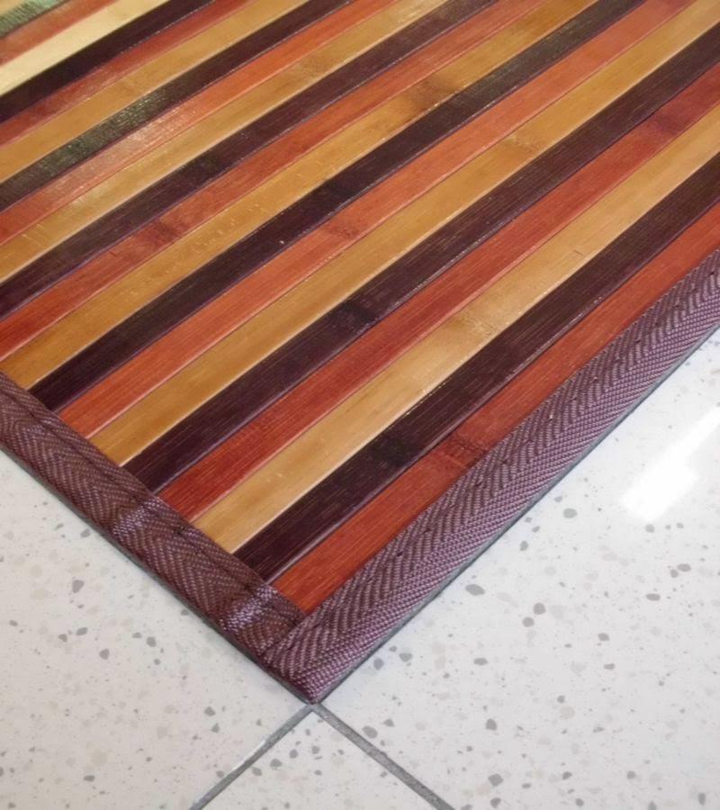 Tappeto in bamboo da cucina economici tappetomania su - Tappeti in bamboo ...