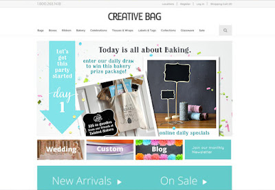 Package. Celebrate. Create. | Creative Bag