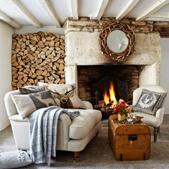 inspiring winter home