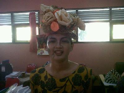 Siswi Cantik SMP N 3 Batang Acara Karnaval 1001 Bunga