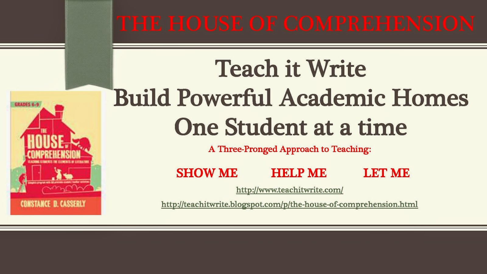 The House of Comprehension poster