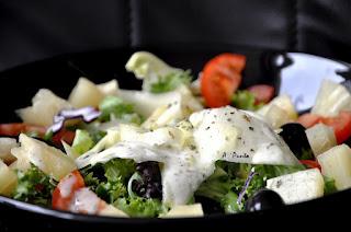 Ensalada de Yogur y Espinacas