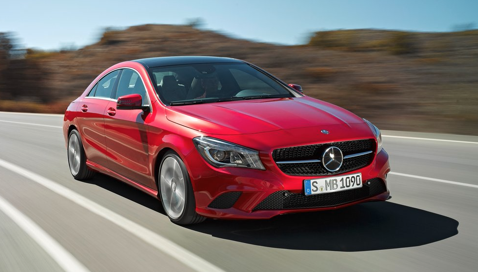 2014 Mercedes-Benz CLA250 red