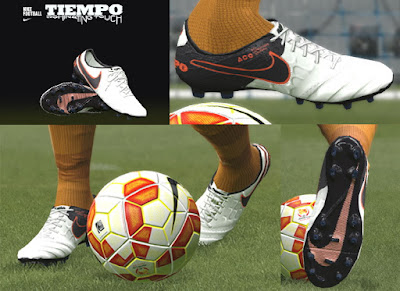 PES 2016 New Nike Tiempo VI Boots by Tisera09
