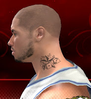 NBA 2K13 Neck Tattoo Mod - Dice and Star