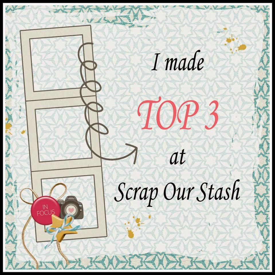 Top 3 at Scrap Our Stash !!