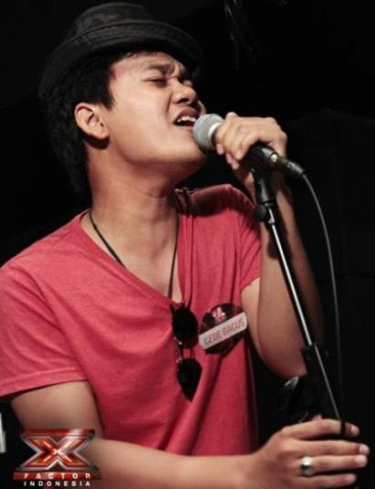 Foto-foto Mikha Angelo X Factor Indonesia