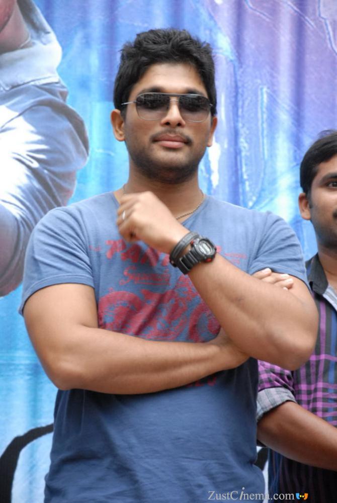 actorzone allu arjun new stills