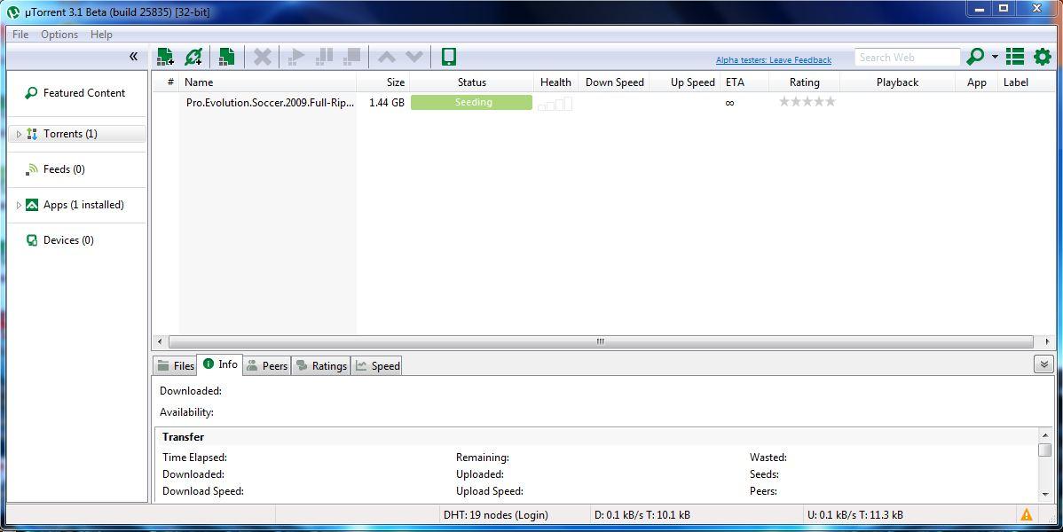 how to increase utorrent download speed in ubuntu