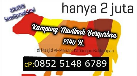 KampungMadinah berQurban 1440H.