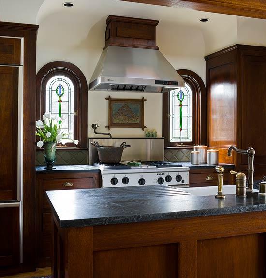 Elegant Kitchens: New Home Interior Design: Elegant Kitchens With Warm Wood