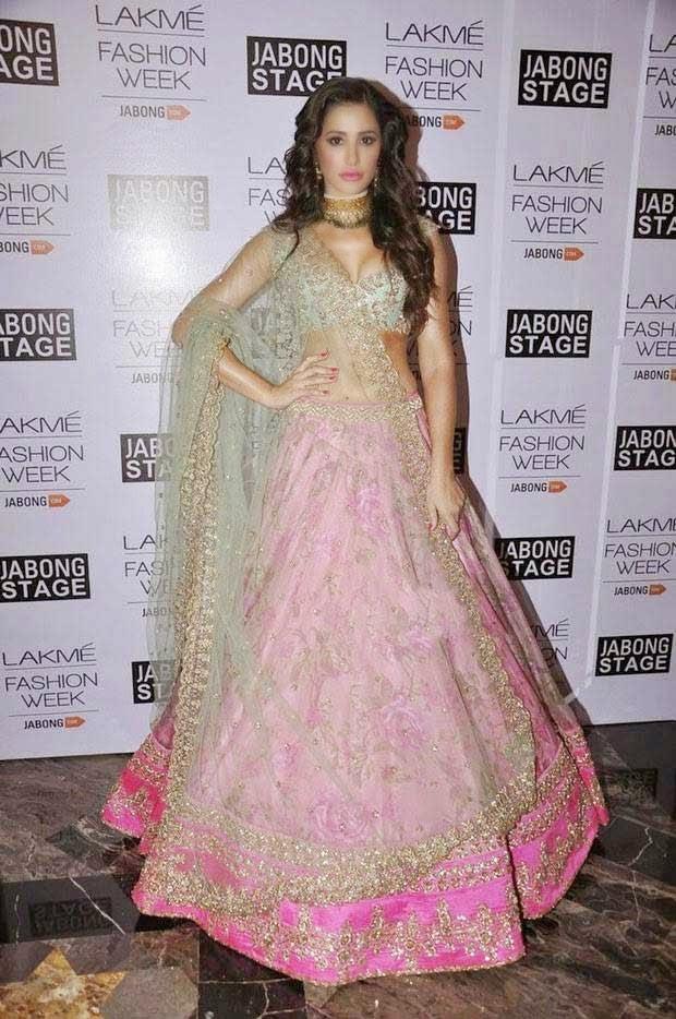 Nargis Fakhri In Designer Lehenga