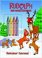 Free Rudolph the Red Nosed Reindeer Coloring Pages Crafty Morning