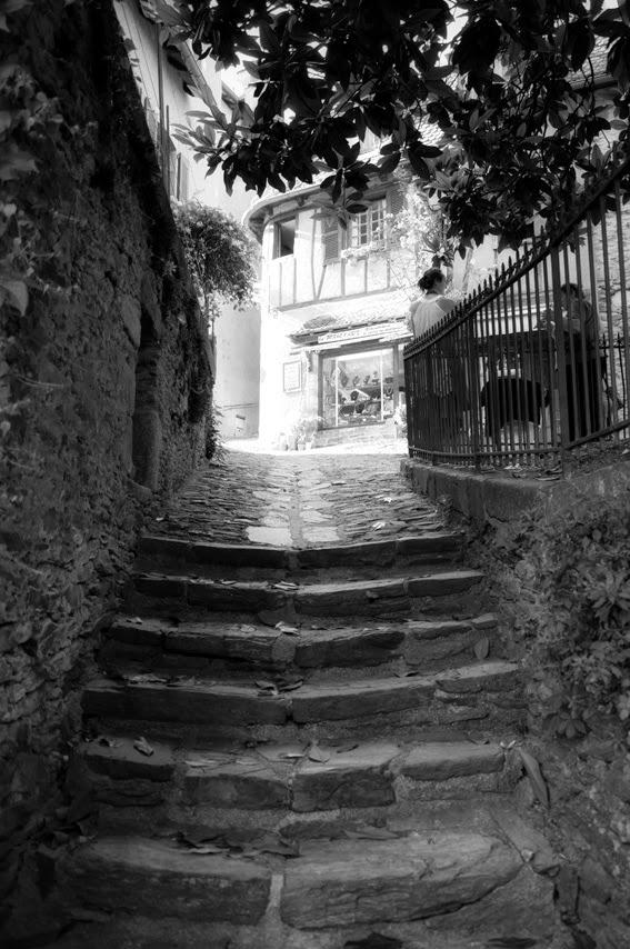 escalier, ruelles