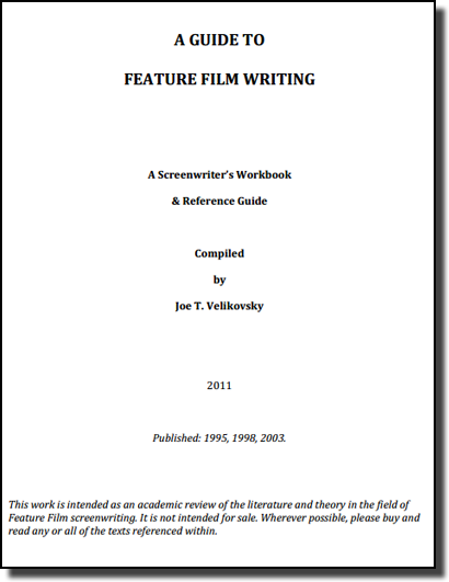 A Guide to Feature Film Writing