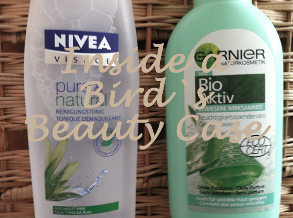 My daily face care products