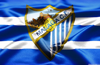 Malaga FC Champions League The Anchovies Spanish Team Logo Spain Hd Desktop Wallpaper