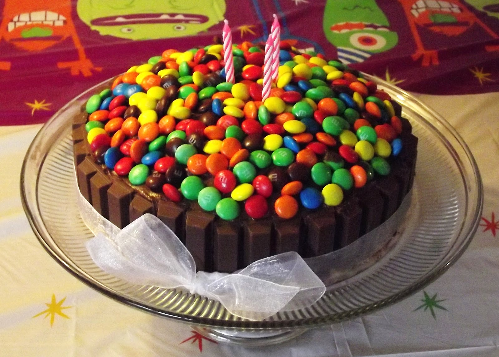A Back To Basics Lifestyle Birthday Traditions Candy Cake