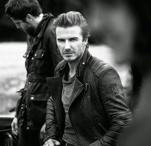 colección Beckham for Belstaff con piezas como la chaqueta motera